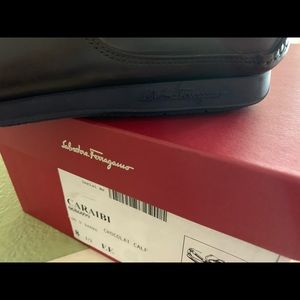 Salvatore Ferragamo Shoes - NIB Salvatore Ferragamo Caraibi Boat Shoes 8 1/2EE